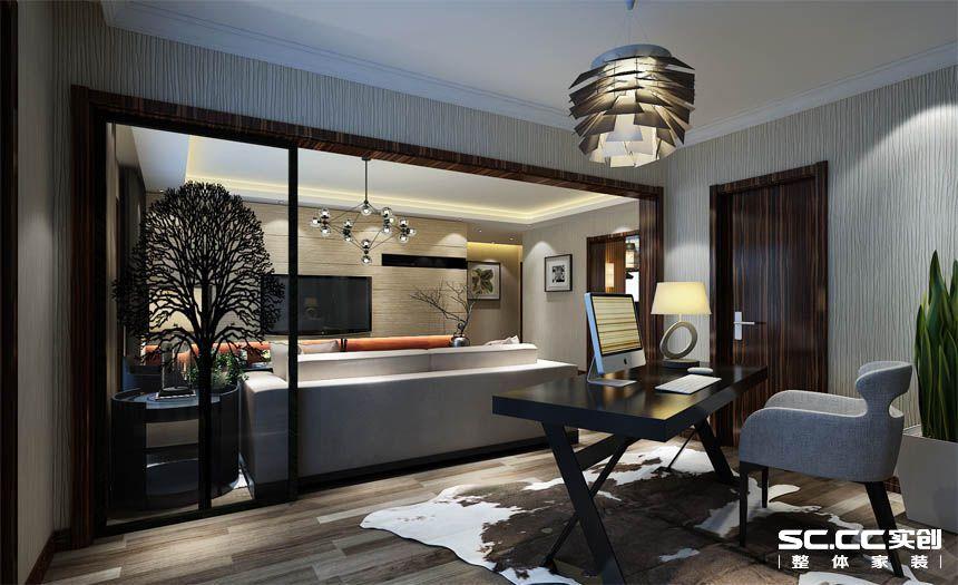 简约 三居 白领 收纳 80后 小资 客厅图片来自实创装饰百灵在万盛北里140平米现代简约都市风的分享