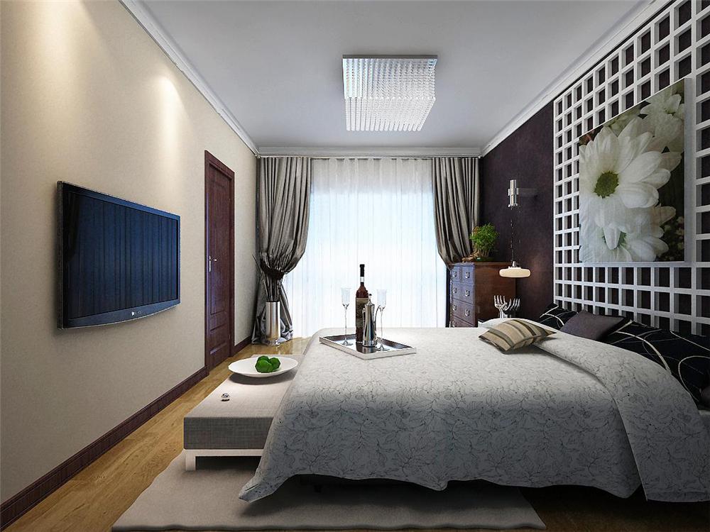 二居 白领 收纳 80后 小资 卧室图片来自实创装饰完美家装在孔雀城英国宫85平简中风格案例的分享