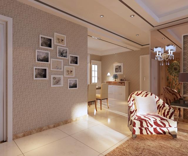 天海誉天下 天海二期 龙发装饰 餐厅图片来自石家庄元洲装饰效果图在天海誉天下二期三室装修的分享