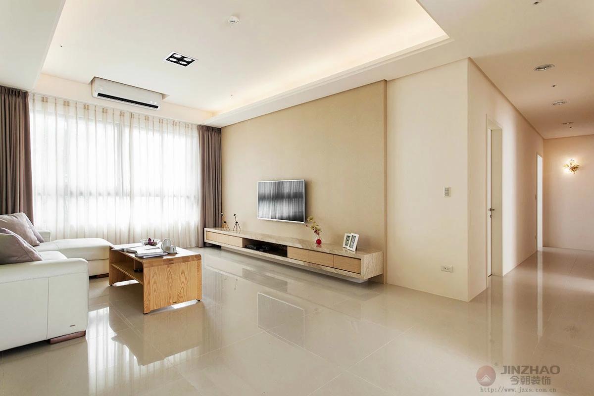 简约 三居 旧房改造 今朝装饰 客厅图片来自赵修杰在悠然雅致--天通苑二区简约设计的分享