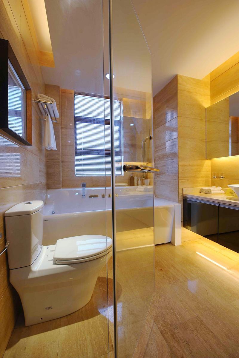 简约 别墅装修 软装配饰 方案设计 二手房 卫生间图片来自北京别墅装修-紫禁尚品在世茂维拉中式风格装修设计的分享