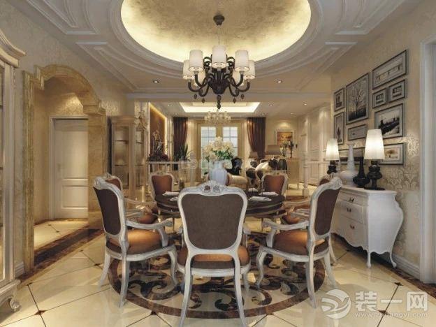 餐厅图片来自上海日升装饰李彦龙在龙发装饰-金辉天鹅湾的分享