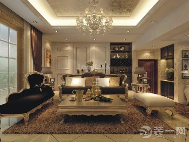 客厅图片来自上海日升装饰李彦龙在龙发装饰-金辉天鹅湾的分享
