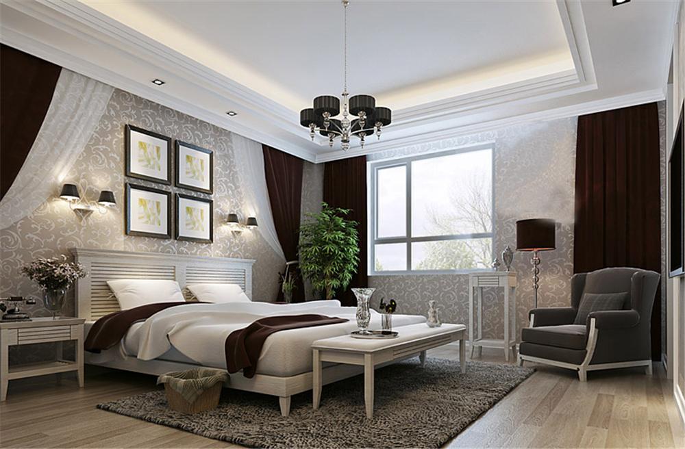 白领 收纳 旧房改造 80后 小资 卧室图片来自实创装饰完美家装在雍景四季178平简欧风格案例赏析的分享