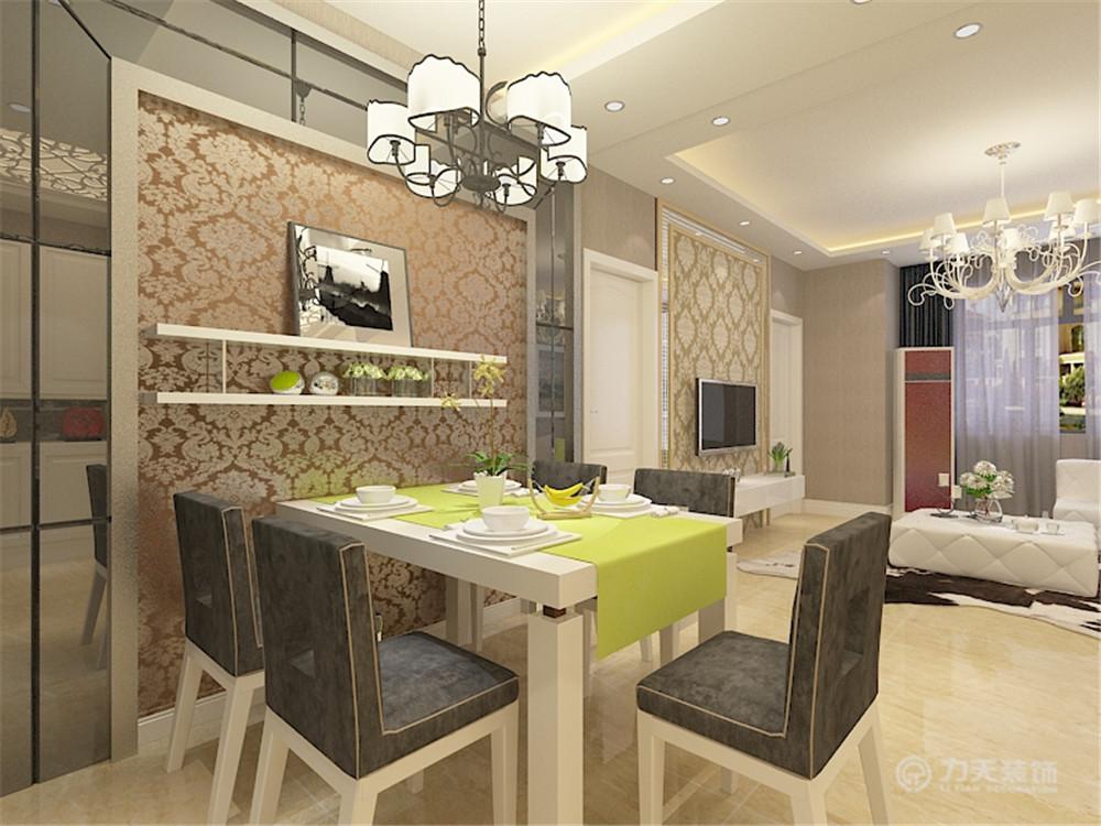现代 二居 白领 收纳 80后 餐厅图片来自阳光放扉er在瞰海品筑-88㎡-现代风格的分享