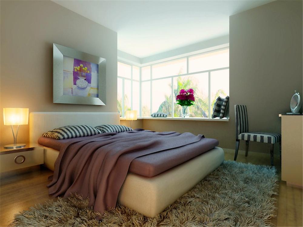 简约 二居 白领 收纳 80后 小资 卧室图片来自实创装饰完美家装在紫金新干线二期简约时尚案例赏析的分享