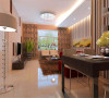 本案例为婚房设计,男女主人均是理工科出身,喜欢立体的线条的空间,所以利用条纹壁纸拉升空间立体感,跳跃的颜色搭配红色曲美沙发,营造出一个现代的温馨的环境。