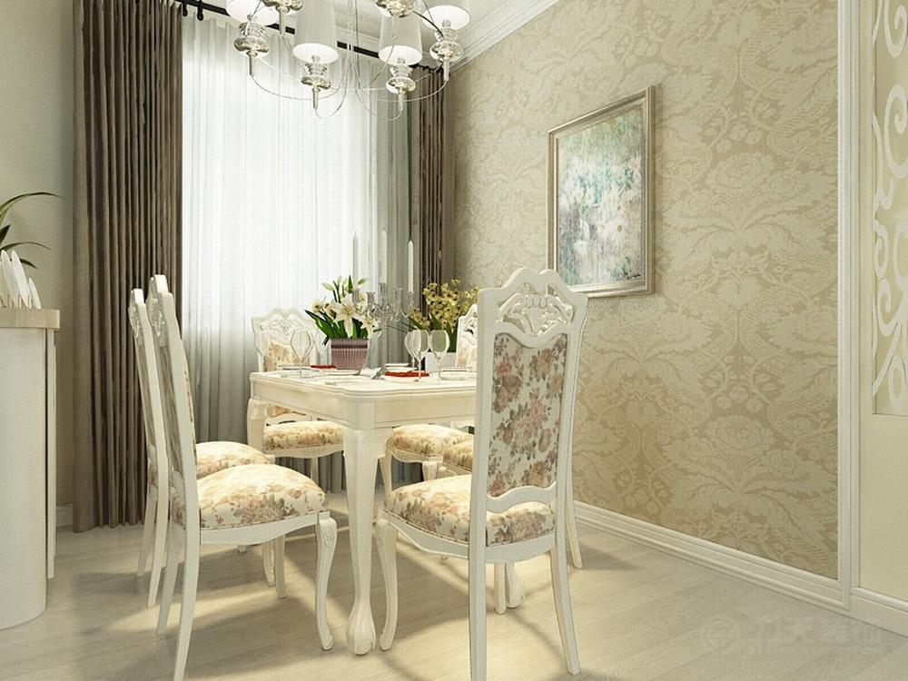 欧式 餐厅图片来自阳光放扉er在春竹园-109㎡-欧式风格的分享