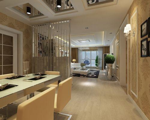日升装饰 餐厅图片来自装修设计芳芳在丰禾壹号140现代三居的分享