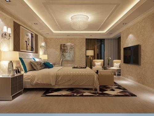 日升装饰 卧室图片来自装修设计芳芳在丰禾壹号140现代三居的分享