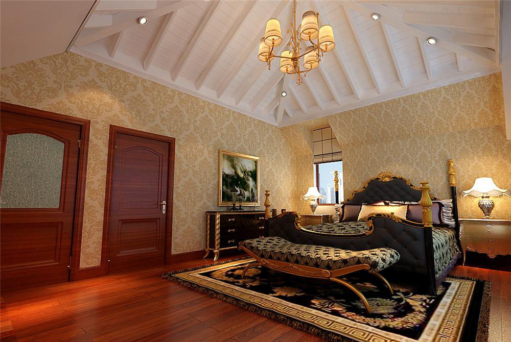 欧式 别墅 白领 收纳 80后 小资 卧室图片来自实创装饰完美家装在欧郡香水城346平西式古典风格的分享