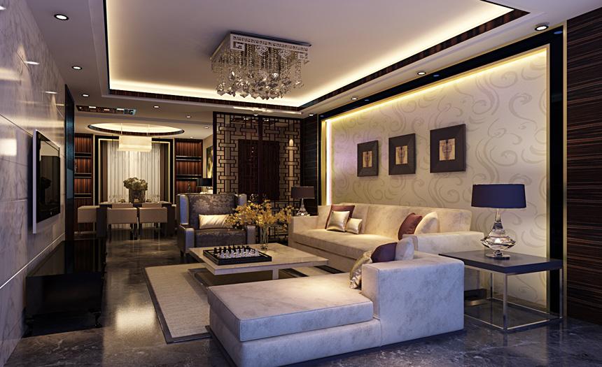 南京实创 整体家装 陈浩 客厅图片来自南京实创装饰陈浩在文化再现 新中式底蕴的分享