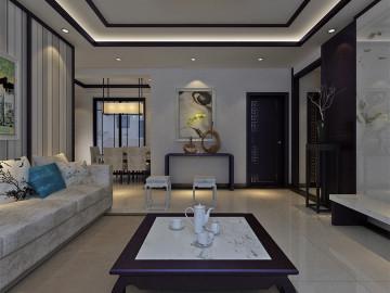 锦艺国际华都三室两厅装修效果图