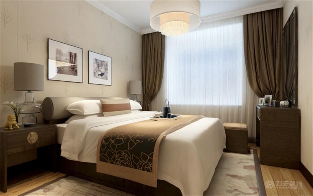 中式风格 三居 白领 收纳 80后 小资 卧室图片来自阳光放扉er在红城-149.1㎡-中式风格的分享