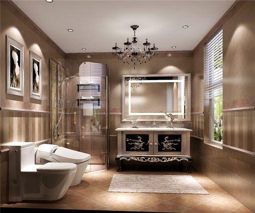 日升装饰 卫生间图片来自装修设计芳芳在林影天下复式简欧风格案例的分享