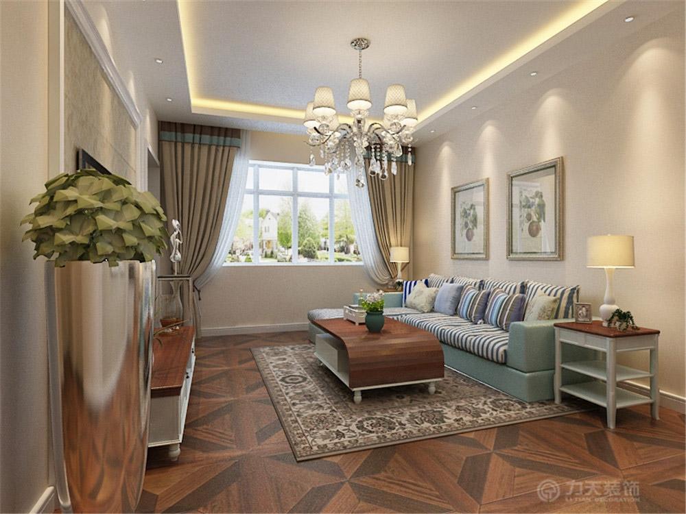 美式 二居 白领 收纳 80后 小资 客厅图片来自阳光放扉er在金月湾-60㎡-美式风格的分享