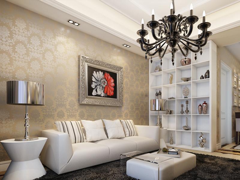 简约 三居 客厅图片来自青岛德隆装饰在现代-招商海德花园的分享