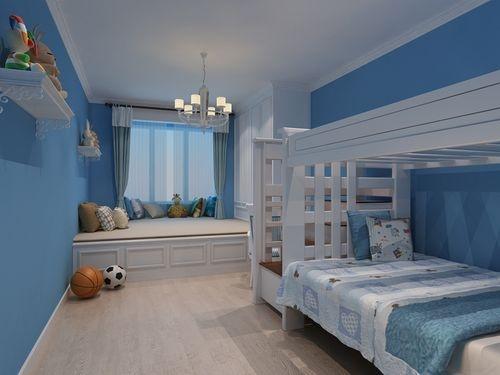日升装饰 儿童房图片来自装修设计芳芳在丰禾壹号140现代三居的分享