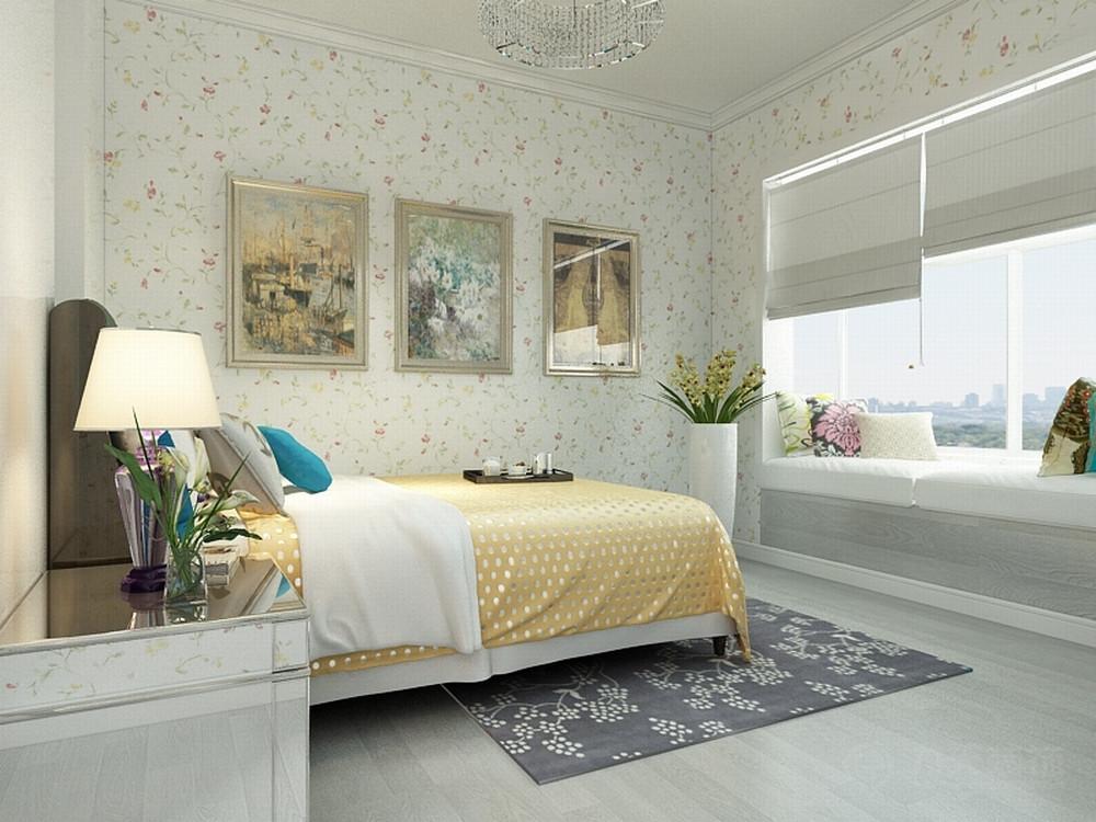 欧式 卧室图片来自阳光放扉er在春竹园-109㎡-欧式风格的分享