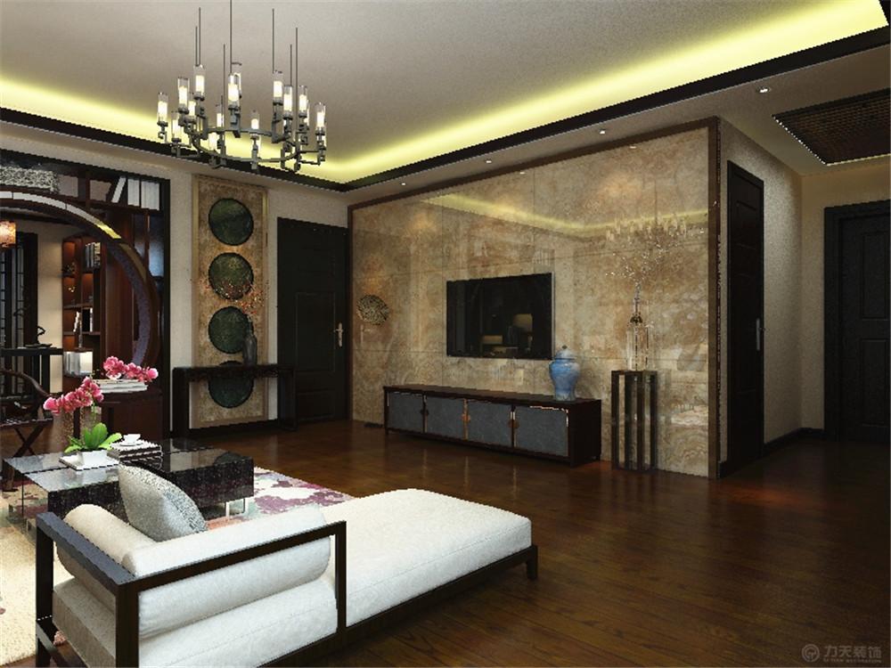 中式 三居 白领 收纳 简约 客厅图片来自阳光力天装饰在力天装饰-眼科医院家属院87㎡的分享