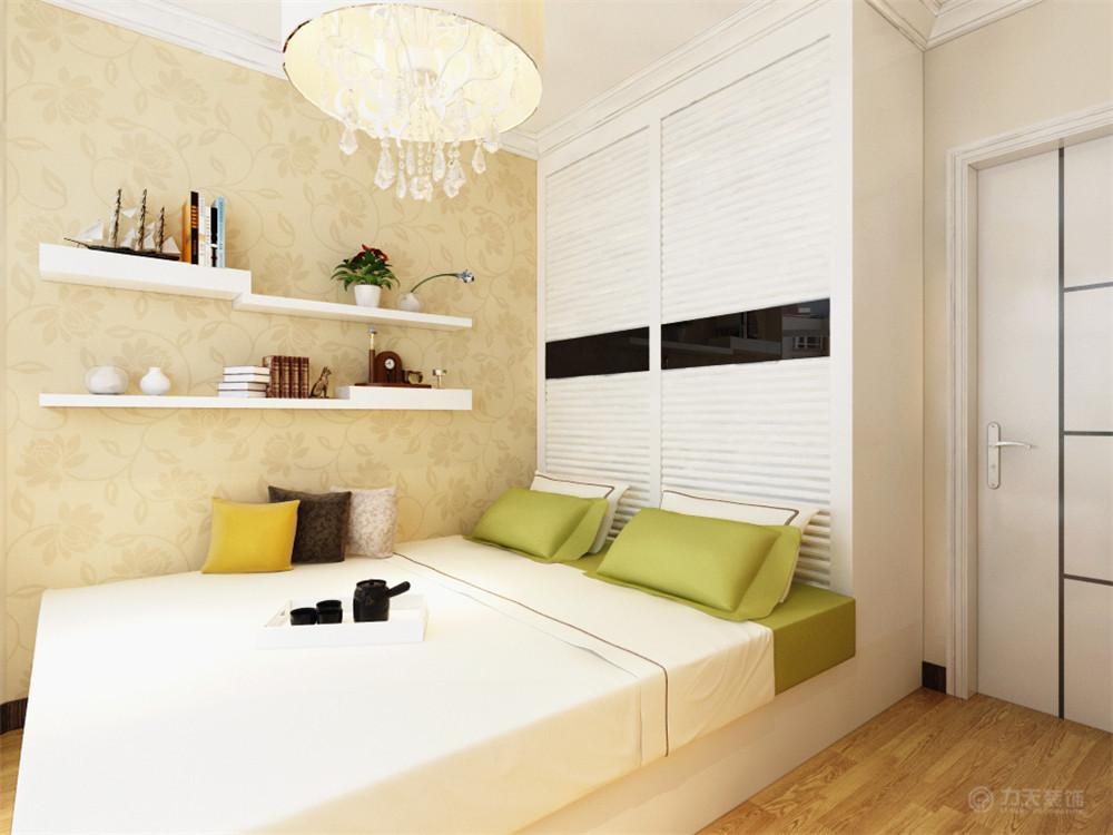 简约 田园 混搭 三居 白领 收纳 小资 卧室图片来自阳光力天装饰在力天装饰-保利玫瑰湾128㎡的分享