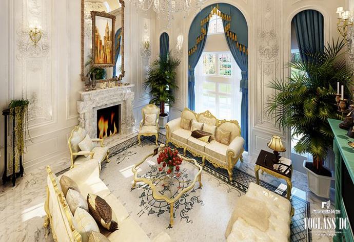 别墅 欧式 别墅生活 客厅图片来自别墅装修尚层装饰王丽在远洋lavie专业别墅设计的分享