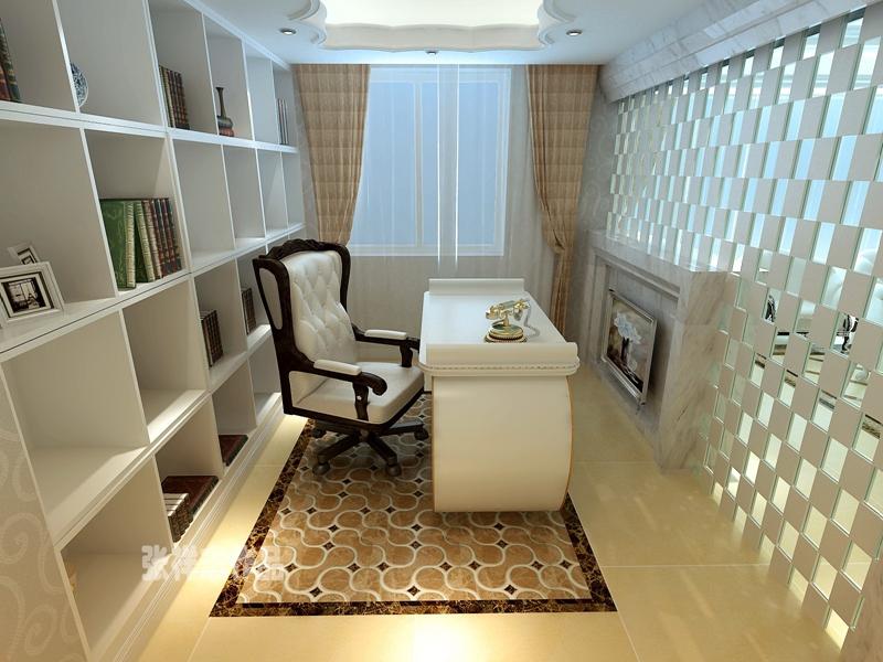别墅 简欧 大气 书房图片来自快乐彩在卓越蔚蓝群岛,简欧装修风格的分享