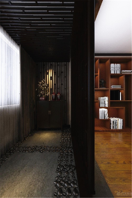 中式 三居 白领 收纳 简约 玄关图片来自阳光力天装饰在力天装饰-眼科医院家属院87㎡的分享