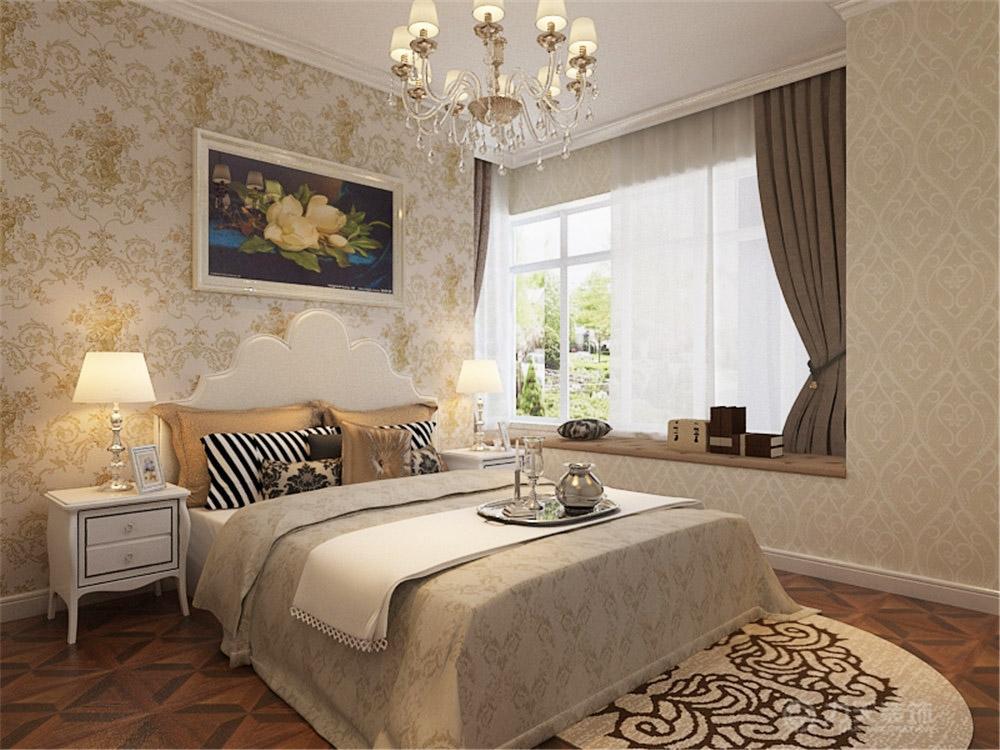 美式 二居 白领 收纳 80后 小资 卧室图片来自阳光放扉er在金月湾-60㎡-美式风格的分享