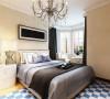卧室空间不是很大,所以放了一个大床,两个床头柜,衣柜,墙面除床头背景墙整体刷米黄色的墙漆。整体会给人一种温馨的感觉。由于线条简单、装饰元素少和完美的软装配合,才能显示出美感。