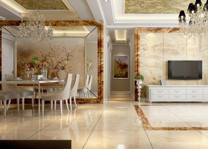 棕榈泉 欧式 三居 家装 时尚 玄关图片来自郑州实创装饰啊静在棕榈泉110平欧式三居的分享