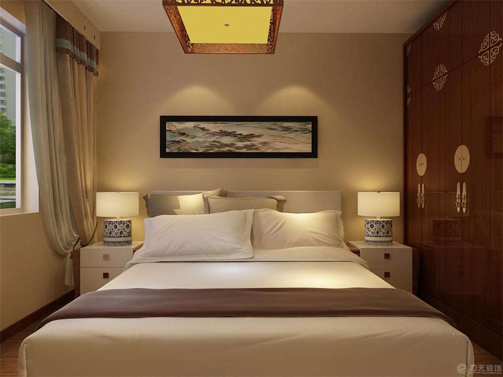 二居 新中式 白领 收纳 80后 小资 卧室图片来自阳光放扉er在金才园-91㎡-新中式风格的分享
