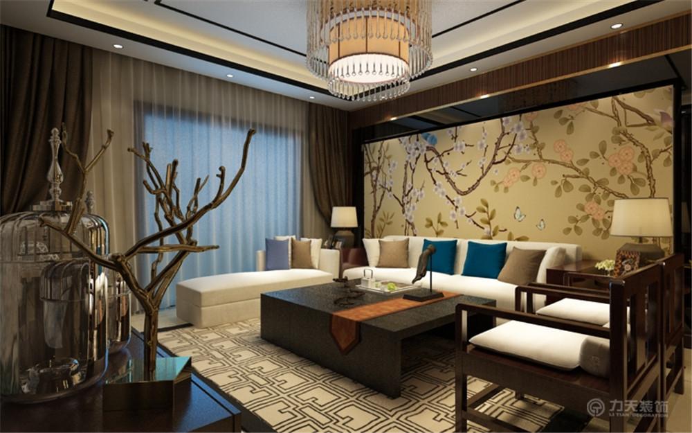 中式风格 三居 白领 收纳 80后 小资 客厅图片来自阳光放扉er在红城-149.1㎡-中式风格的分享