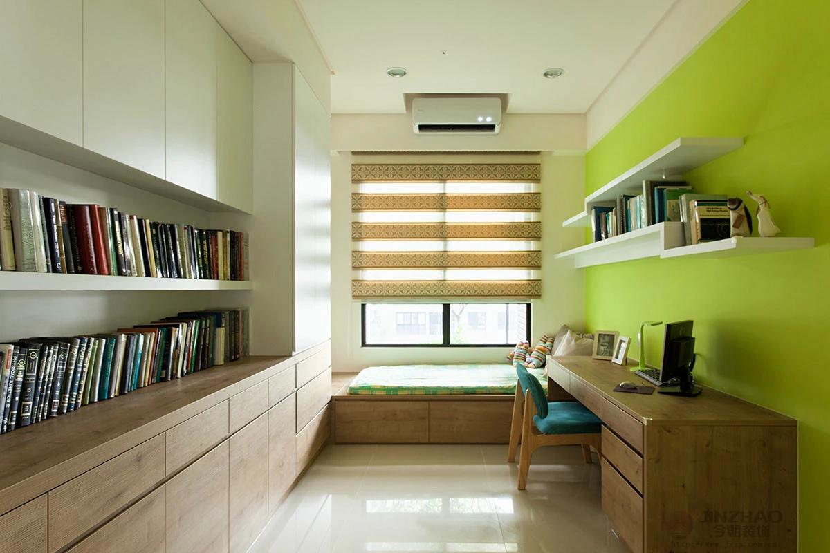 简约 三居 旧房改造 今朝装饰 书房图片来自赵修杰在悠然雅致--天通苑二区简约设计的分享