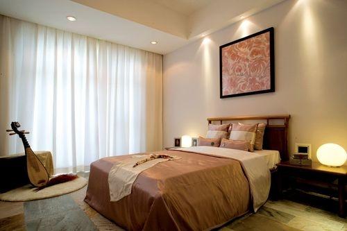日升装饰 卧室图片来自装修设计芳芳在华远锦悦221中式四局的分享