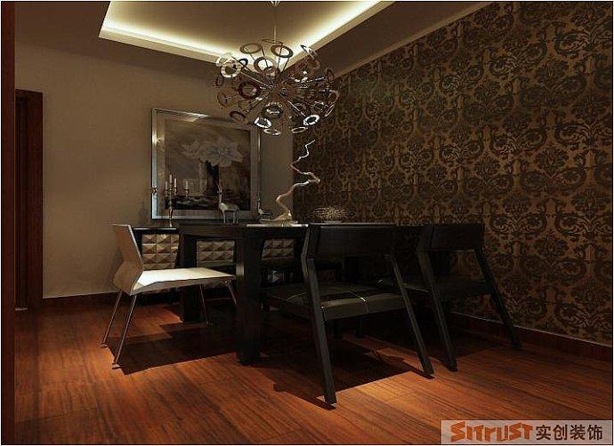 正商华钻 中式 两居 家装 整体 餐厅图片来自郑州实创装饰啊静在正商华钻90平中式两居的分享