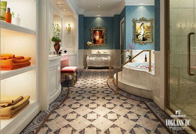 别墅 欧式 别墅生活 卫生间图片来自别墅装修尚层装饰王丽在远洋lavie专业别墅设计的分享