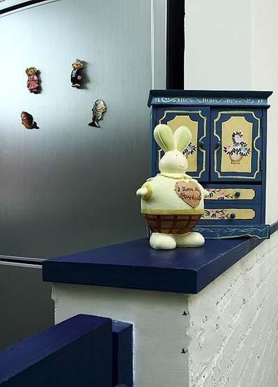 田园 简约 80后 小资 客厅图片来自实创苗苗在【实创装饰】保利拉菲蓝色调田园的分享