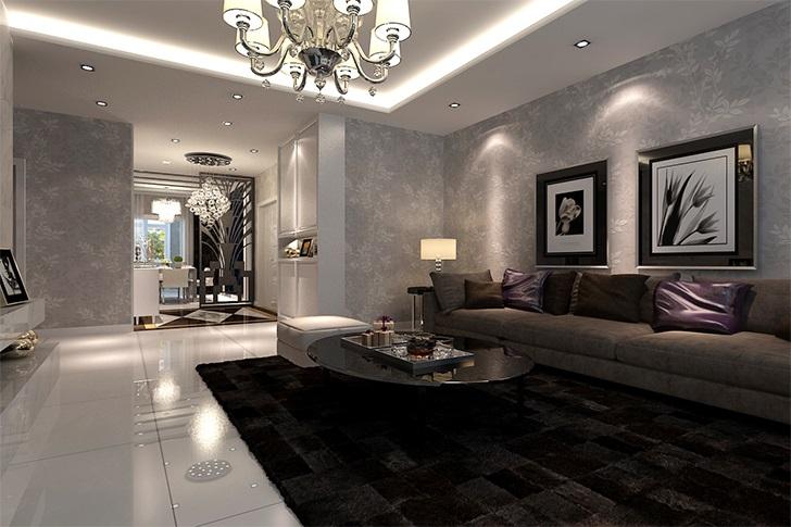 简约 欧式 小资 客厅图片来自西安业之峰装饰在曲江兰亭——现代简欧的分享