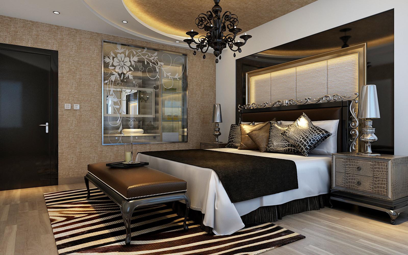 简约 别墅 卧室图片来自实创装饰上海公司在减法原则简约风格设计的分享