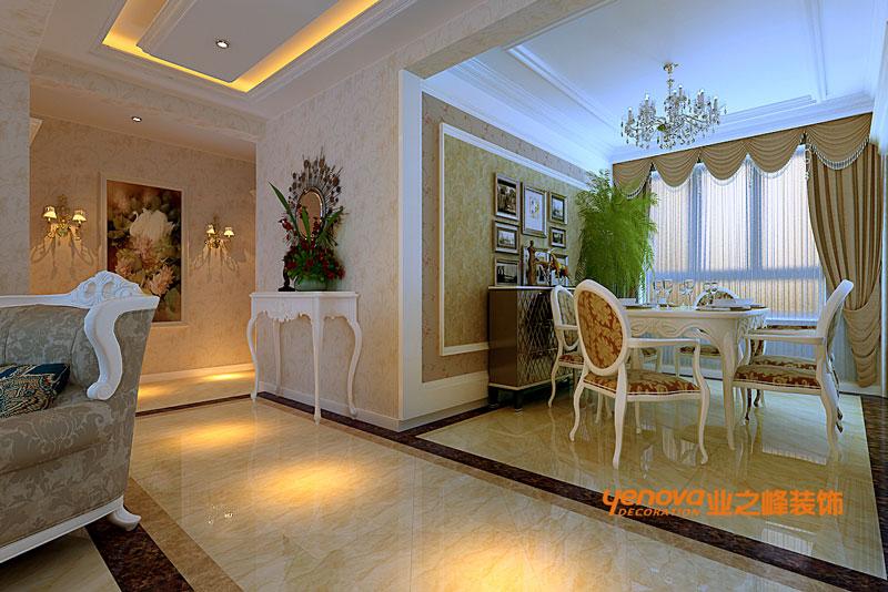 三居 欧式风格 效果图 兰州业之峰 装修公司 餐厅图片来自兰州业之峰装饰--赵琴在银滩雅苑欧式风格的分享
