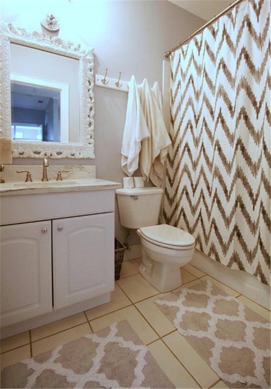 日升装饰 卫生间图片来自装修设计芳芳在北欧三居的分享
