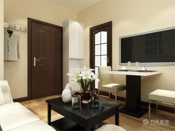 本户型位于东惠家园一室一厅一厨一卫 47㎡。本次的设计风格是简约。