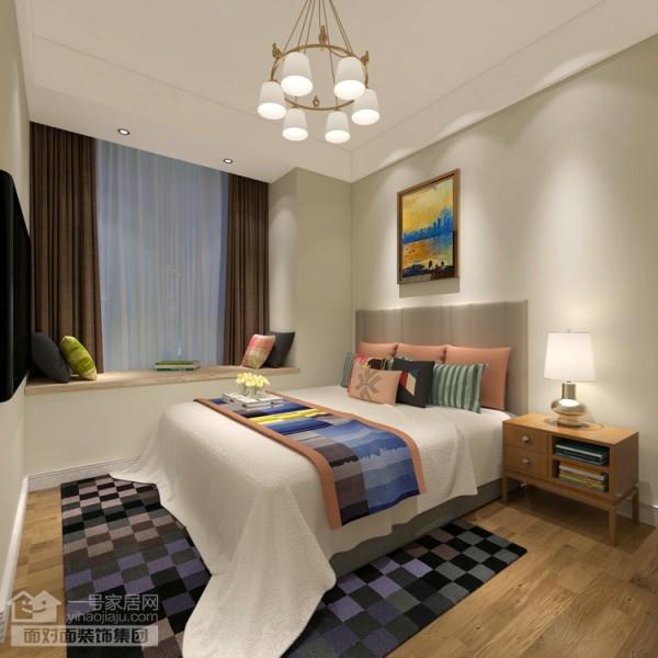 奥山世纪城108平户型卧室效果图
