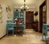 逸品香山两室两厅美式装修效果图