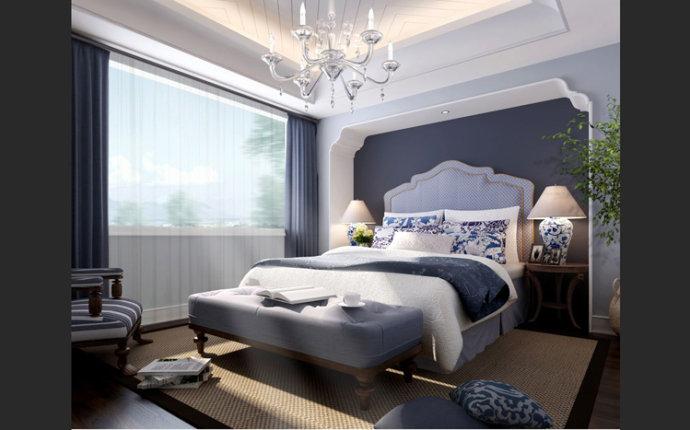 银河丹提 地中海 三居 家装 卧室图片来自郑州实创装饰啊静在银河丹提地中海三居的分享