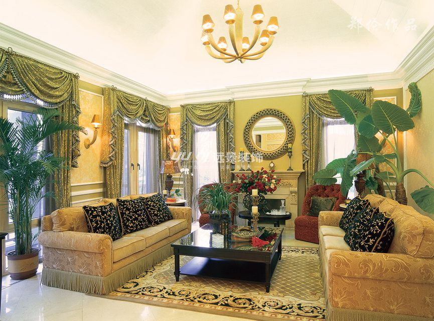 美式 客厅图片来自重庆远景装饰_张其斌在美式风格的分享