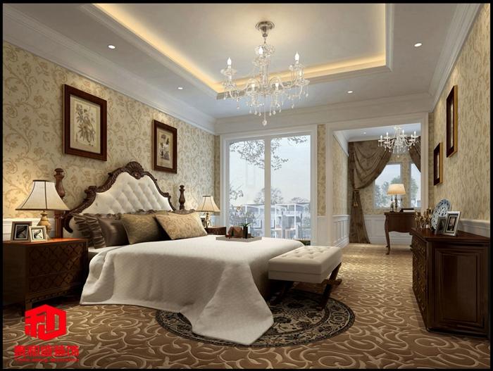 简约 三居 卧室图片来自泰和盛装饰在信义嘉御山的分享