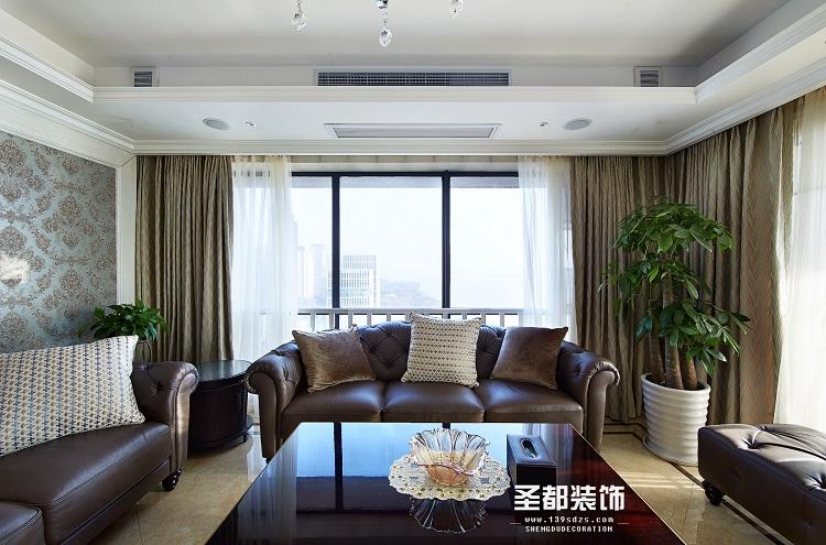 客厅图片来自素颜马尾好菇凉9在新古典风格 半包的分享