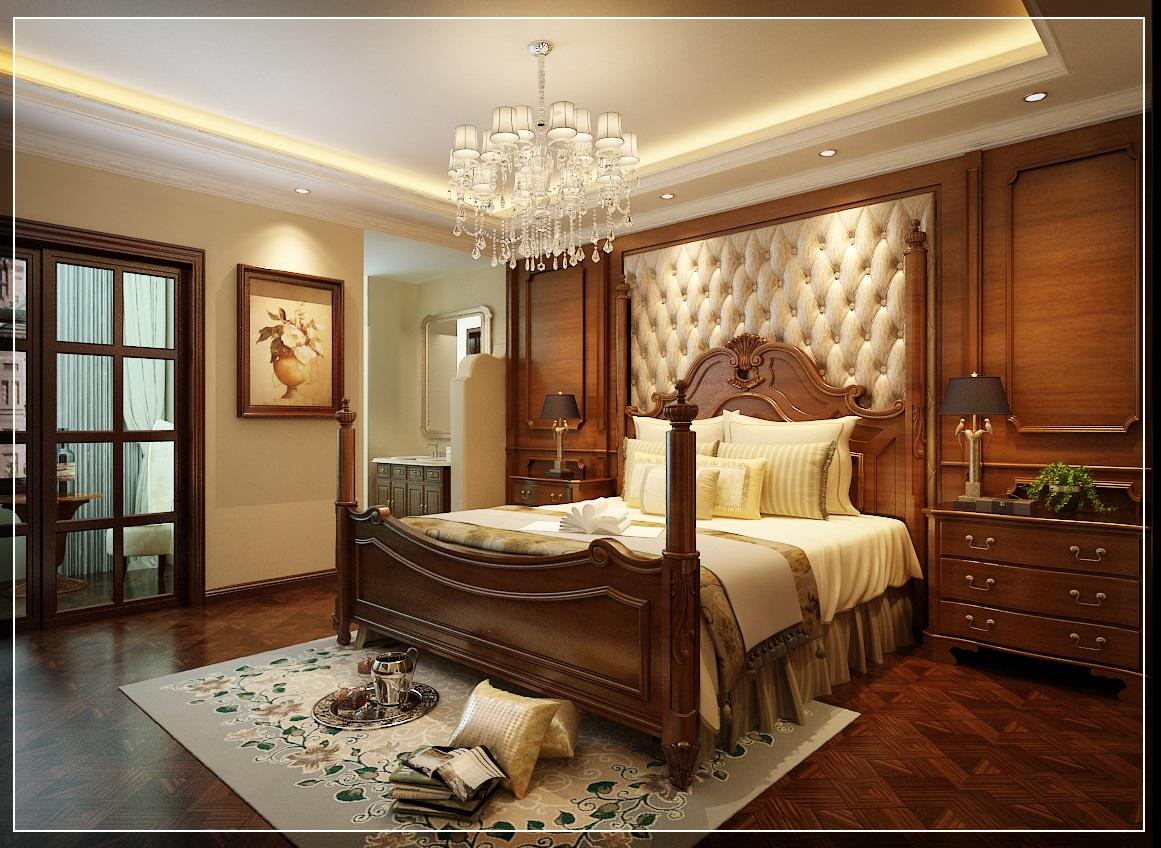 美式 小资 复式 卧室图片来自西安业之峰装饰在龙湖香醍——美式风格的分享